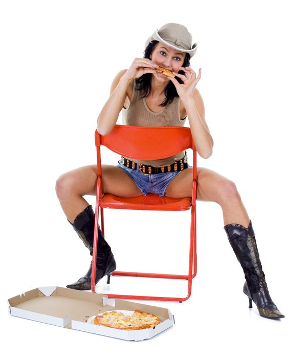 Giddy up, Pizza! That's all, folks.