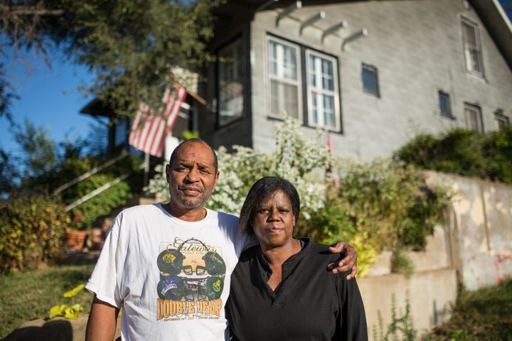 Valarie Whitner and Vincent Blount, two Pagedale, Mo., residents who have been repeatedly fined.