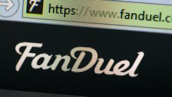 CHICAGO, IL - OCTOBER 16: The fantasy sports website FanDuel  is shown on October 16, 2015 in Chicago, Illinois. FanDuel and its rival DraftKings have been under scrutiny after accusations surfaced of employees participating in the contests with insider information. An employee recently finished second in a contest on FanDuel, winning $350,000. Nevada recently banned the sites. (Photo illustration by Scott Olson/Getty Images)