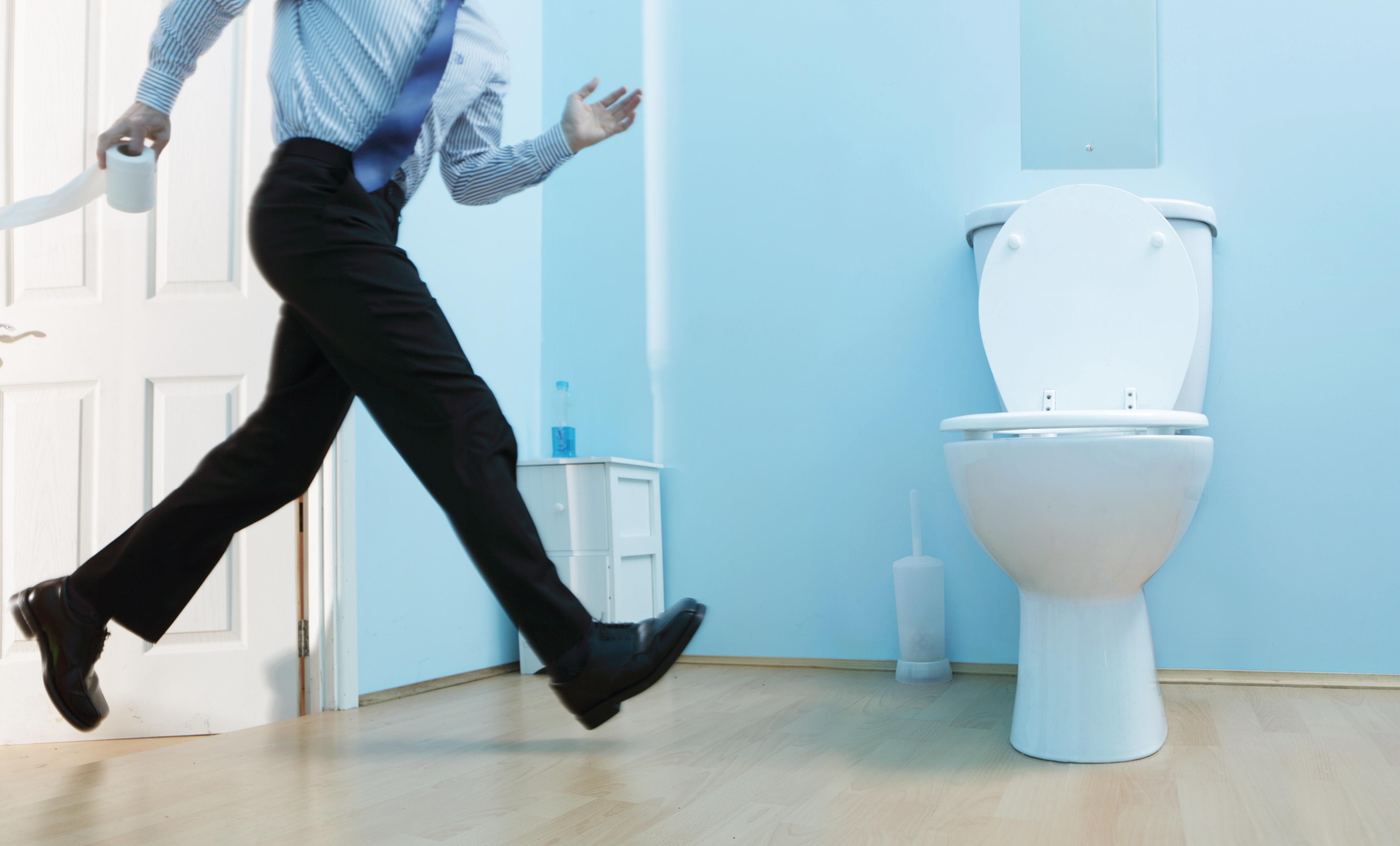Bathroom leak pee piss stop