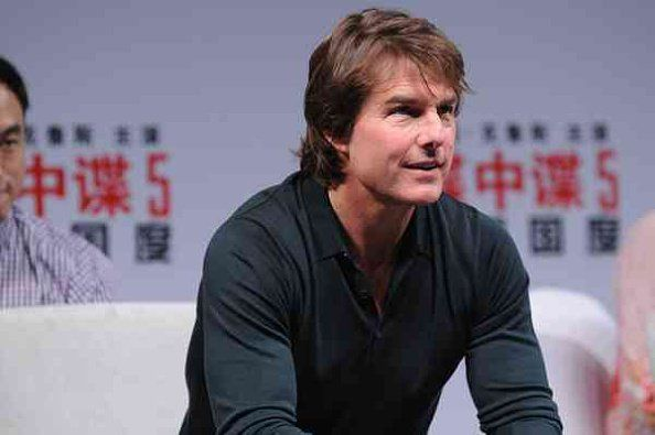 SHANGHAI, CHINA - SEPTEMBER 06:  (CHINA OUT) American actor Tom Cruise attends the press conference of Christopher McQuarrie's film 'Mission: Impossible - Rogue Nation' at Jing An Shangri-La on September 6, 2015 in Shanghai, China.  (Photo by ChinaFotoPress/ChinaFotoPress via Getty Images)