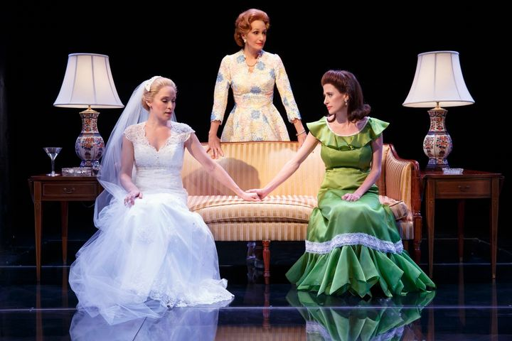 "Betsy Morgan, Barbara Walsh and Caissie Levy star in ""First Daughter Suite."""