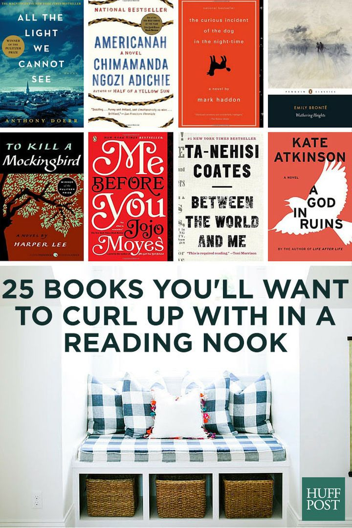 25 Books You'll Want To Curl Up With In A Reading Nook