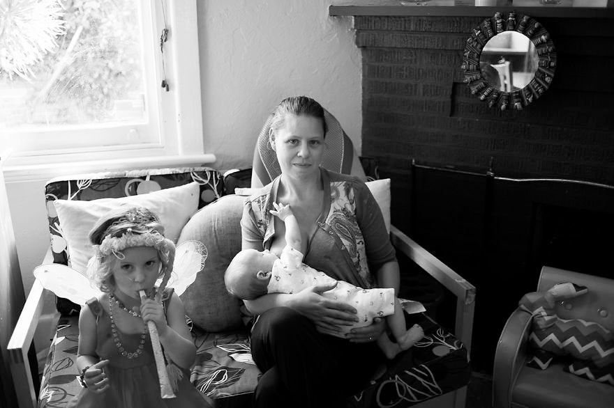 Mom's Photo Series Showcases The Messy Reality Of