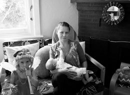 Mom's Photo Series Showcases The Messy Reality Of Breastfeeding
