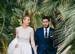 Whitney Port Got Married And Her Wedding Dress Does Not Disappoint