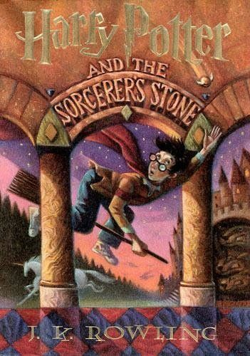 """<strong><a href=""""http://www.amazon.com/Harry-Potter-Sorcerers-Stone-Rowling/dp/059035342X?tag=thehuffingtop-20""""><i>Harry Pott"""