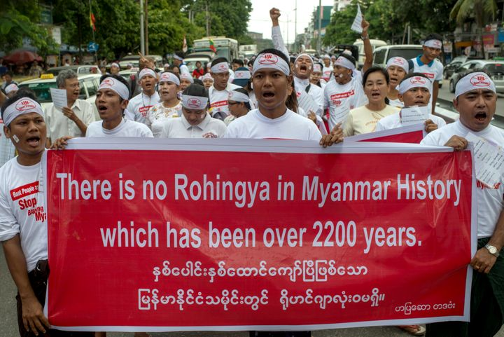 Buddhist nationalists say the Rohingya are illegal Bengali immigrants.