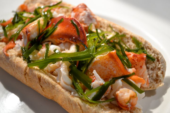 A kelp lobster roll is just one of many examples of ways seaweed is being worked with in the kitchen.