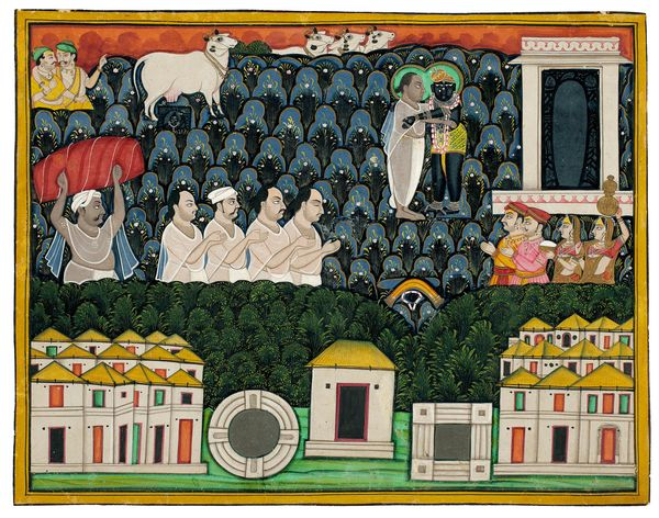 """""""Vallabhacharya (1479-1531), the founder of the Pushtimarg sect, was born in the late fifteenth century, a singularly c"""