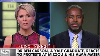 Ben Carson Says College Protests Against Racism Could Spark