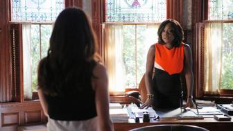 HOW TO GET AWAY WITH MURDER - 'Hi, I'm Philip' - Philip makes a threatening move and ADA Sinclair may have figured out a way to take down Annalise. Meanwhile, Catherine and Caleb are forced to make a life changing decision, on 'How to Get Away with Murder,' THURSDAY NOVEMBER 12 (10:00-11:00 p.m., ET) on the ABC Television Network (Tony Rivetti/ABC via Getty Images)