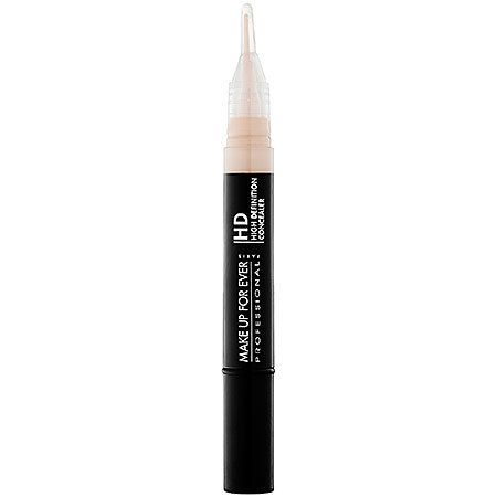 "<i><strong>Make Up For Ever HD Invisible Cover Concealer</strong></i>. ""It's the absolute best for buildable coverage."""