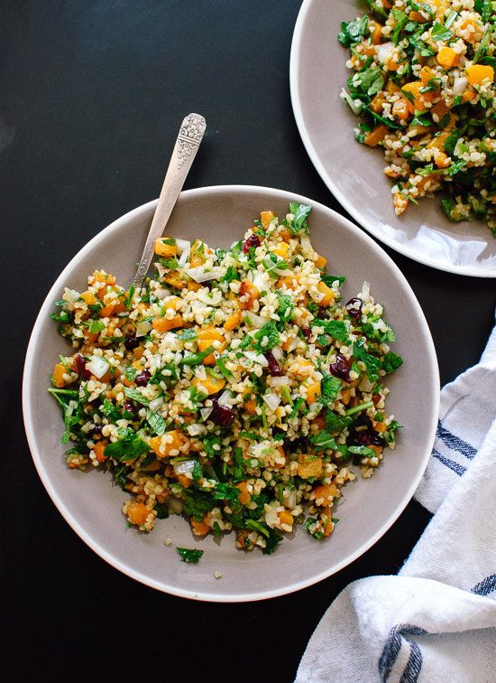 "<strong>Get the <a href=""http://cookieandkate.com/2015/butternut-tabbouleh-recipe/"" target=""_blank"">Butternut Tabbouleh recip"