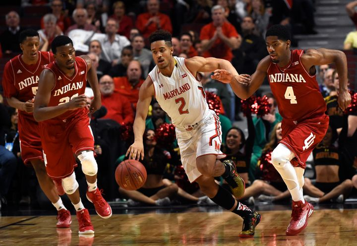 Maryland star sophomore point guard Melo Trimble has the Terps thinking national title for the first time since 2002.