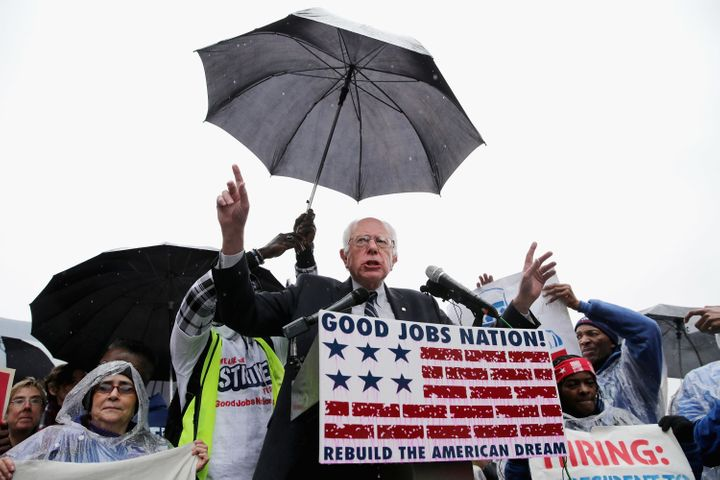 Democratic presidential candidate Bernie Sanders (I.Vt.) penned a letter to Compass Groupfood services company asking t