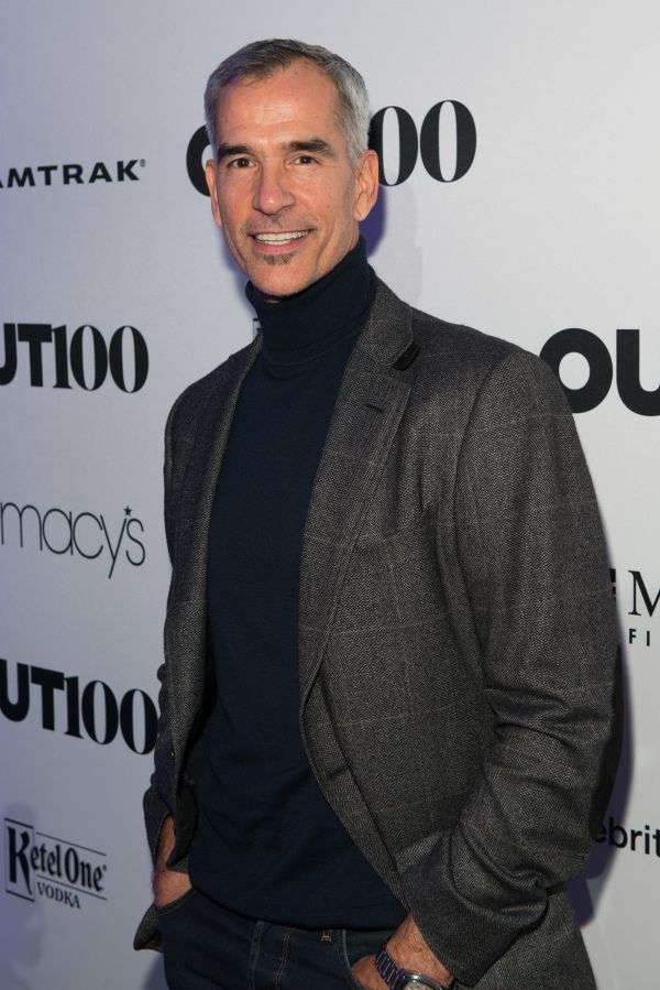 Choreographer, Jerry Mitchel walks the red carpet at the OUT100 Gala, presented by Lexus at Guastavino's on Wednesday evening