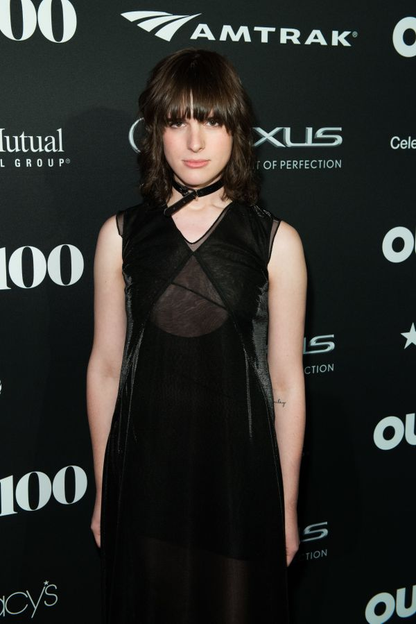 Transparent Season 2 star, Hari Nef walk the red carpet at the OUT100 Gala, presented by Lexus at Guastavino's on Wednesday e