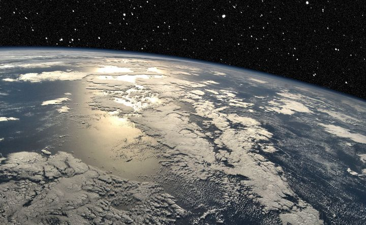New research suggests that our planet Earth has had water since it was formed.