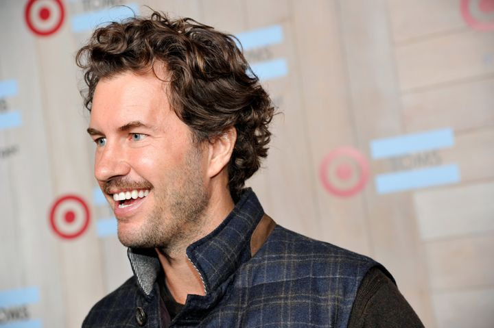 "Toms founder Blake Mycoskie calls himself the company's ""chief shoe giver."""
