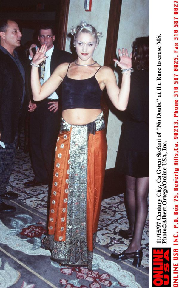 At the Fifth Annual Race to Erase MS Gala on Nov. 14, 1997 in Century City, CA.