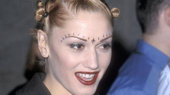 LAS VEGAS - DECEMBER 8:   Singer Gwen Stefani of No Doubt attends the Eighth Annual Billboard Music Awards on December 8, 1997 at the MGM Grand Garden Arena in Las Vegas, Nevada. (Photo by Ron Galella, Ltd./WireImage)