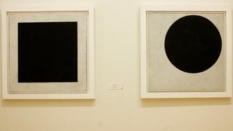 The Russian Museum, Kazimir Malevich, Black Square. (Photo by: Godong/UIG via Getty Images)