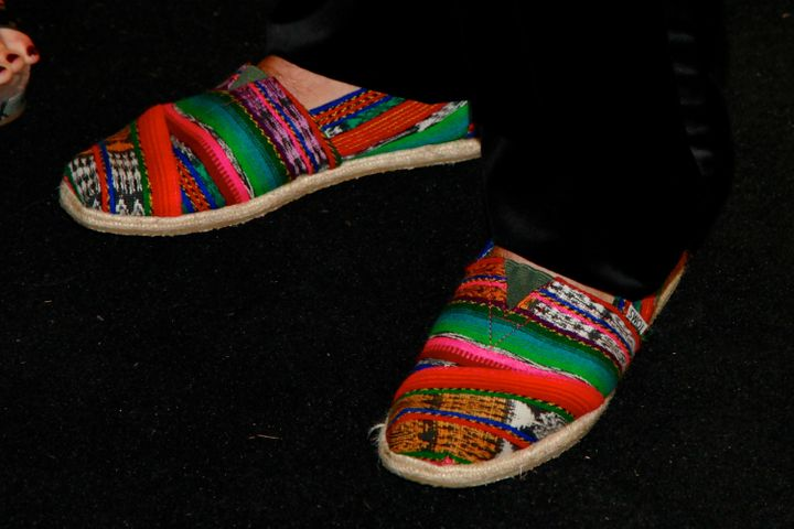 Footwear by Toms Shoes.