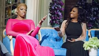 THE REAL HOUSEWIVES OF ATLANTA -- 'Reunion' -- Pictured: (l-r) Nene Leakes, Kandi Burruss -- (Photo by: Wilford Harewood/Bravo/NBCU Photo Bank via Getty Images)