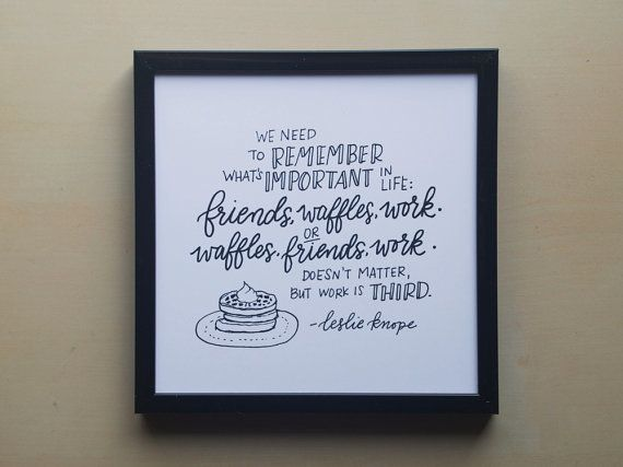 "Get the <a href=""https://www.etsy.com/listing/226097783/friends-waffles-work-leslie-knope-on?ga_order=most_relevant&amp;ga_se"