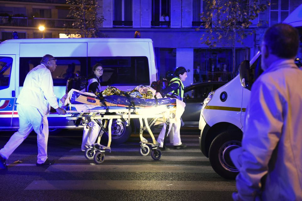 "Journalist <a href=""http://www.cnn.com/2015/11/13/europe/bataclan-paris-shooting-witness/"">Julien Pearce, who was at the Bata"