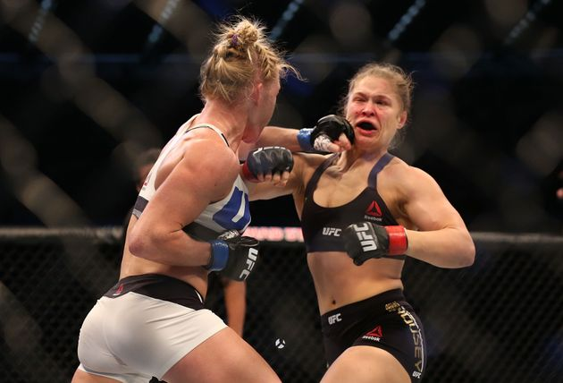 Ronda Rousey Knocked Out By Holly Holm In 'Unthinkable' UFC