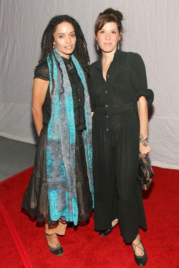 Lisa Bonet and Marisa Tomei