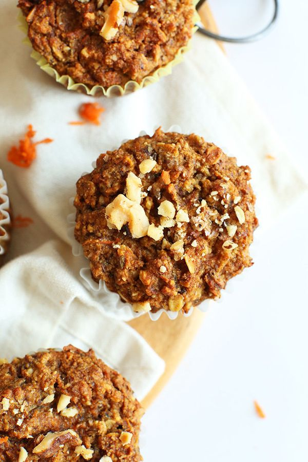 "<strong>Get the<a href=""http://minimalistbaker.com/one-bowl-carrot-apple-muffins-vegan-gf/"" target=""_blank""> One Bowl Carrot"