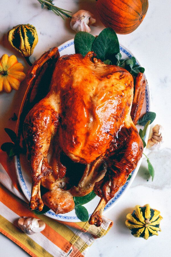 "<strong>Get the <a href=""http://thewoksoflife.com/2014/11/grandpas-perfect-thanksgiving-turkey/"">Classic Roast Turkey recipe<"