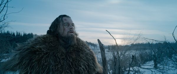 """Here's the thing about """"The Revenant"""": Nobody's seen it. Alejandro González Iñárritu'sepic tale of"""