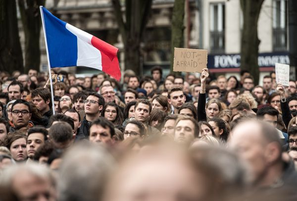 As France's Muslim community braced itself for a possible backlash after the attacks, thousands of citizens organized <a href