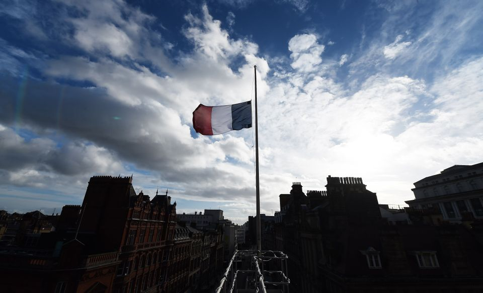 "People living in Paris used the hashtag <a href=""http://www.huffingtonpost.com/entry/paris-france-terrorist-at"