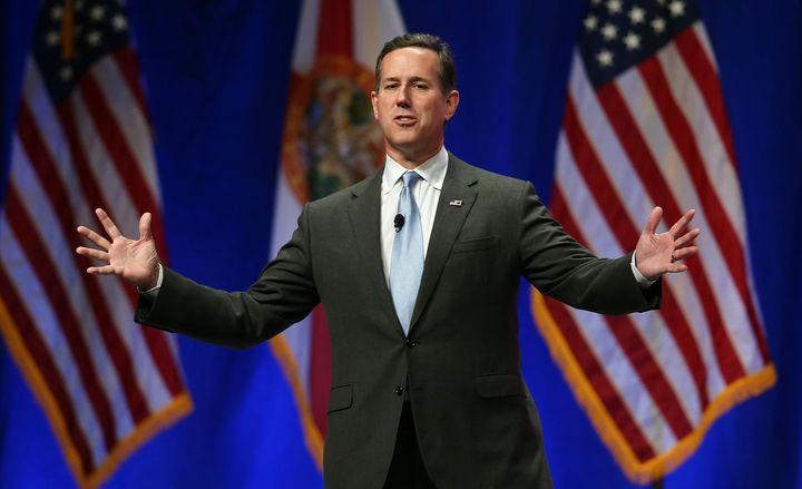 Republican presidential candidate Rick Santorum recorded a robocall in support of Sen. David Vitter's Louisiana gubernatorial