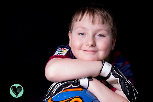 Tomos loves Manchester United,horseback riding, wheelchair rugby and baking. He has a form of spina bifida known as mye