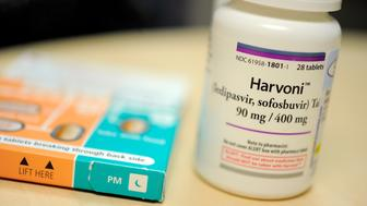Harvoni is one of the new breakthrough drugs for Hepatitis C. (Lloyd Fox/Baltimore Sun/TNS via Getty Images)