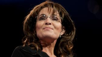 UNITED STATES - MARCH 16:  Former Governor of Alaska Sarah Palin during the 2013 Conservative Political Action Conference at the Gaylord National Resort & Conference Center at National Harbor, Md., on Saturday, March 16, 2013.(Photo By Douglas Graham/CQ Roll Call)