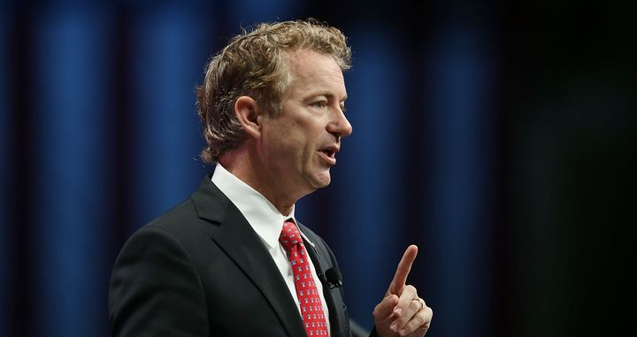 Sen. Rand Paul has a history of advocating against taking the battle overseas.