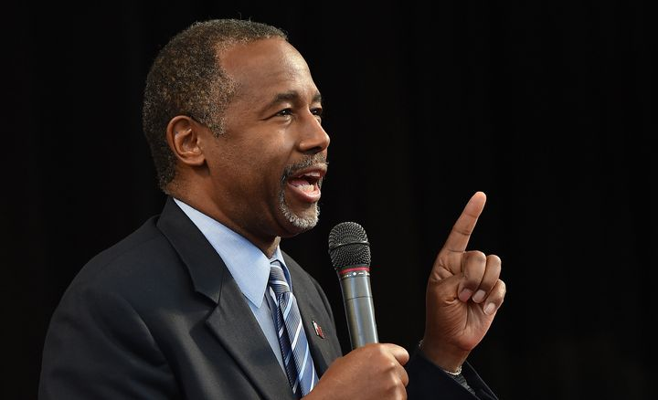 "Ben Carson said Obama's refugee plan is a ""huge mistake."""