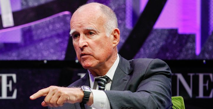 California Gov. Jerry Brown (D) is facing pressure to take a stand against fracking.