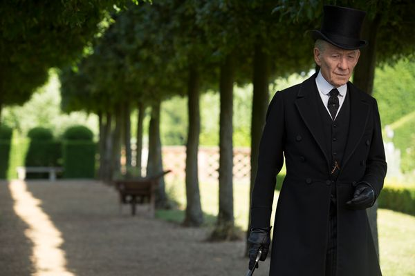 """Ian McKellen has never won an Oscar. Not once! That's crazy. Will """"Mr. Holmes"""" change his luck? Probably not. It just hasn't"""