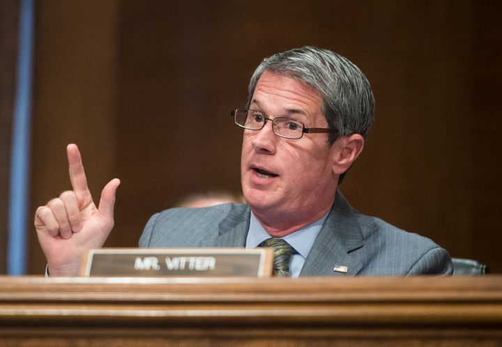 Louisiana gubernatorial candidate Sen. David Vitter (R-La.) is using footage of the Paris attacks to criticize his Democratic