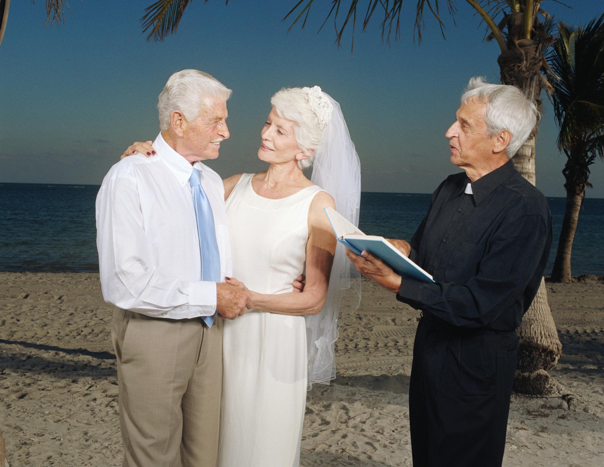 Couple Mature Wedding - Adult Archive-8280