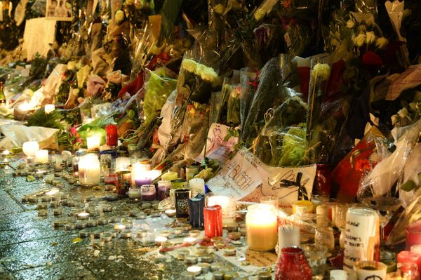 "Pierre&nbsp;and his wife&nbsp;Anne&nbsp;were killed at the Bataclan the night of the attacks, <a href=""http://www.afp.com/en/"