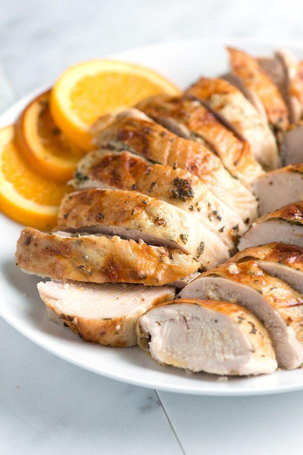 "<strong>Get the <a href=""http://www.inspiredtaste.net/17797/roasted-rosemary-orange-turkey-breast-recipe/"" target=""_blank"">Or"